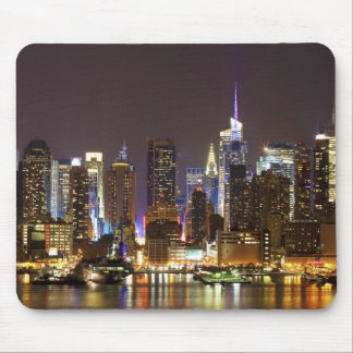 Midtown Manhattan seen from Weehawken New Jersey Mouse Pad