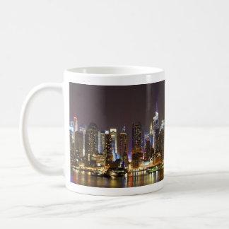 Midtown Manhattan seen from Weehawken New Jersey Mugs