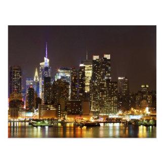 Midtown Manhattan seen from Weehawken New Jersey Postcard