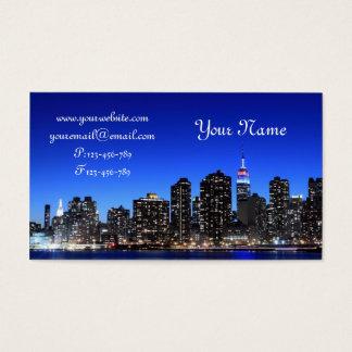 Midtown Manhattan Skyline, New York City Business Card