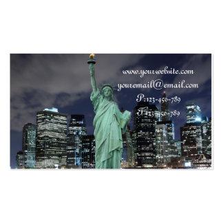Midtown Manhattan Skyline, New York City Business Card Templates