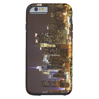 Midtown Manhattan visto de Weehawken New Jersey Funda De iPhone 6 Tough