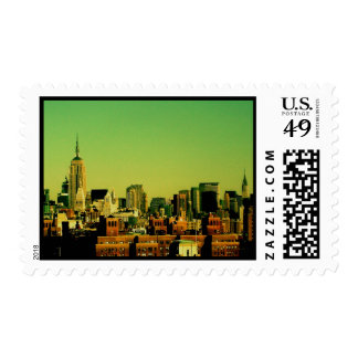 Midtown NYC Postage Stamps