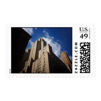 Midtown Skyscraper, New York City Postage Stamps
