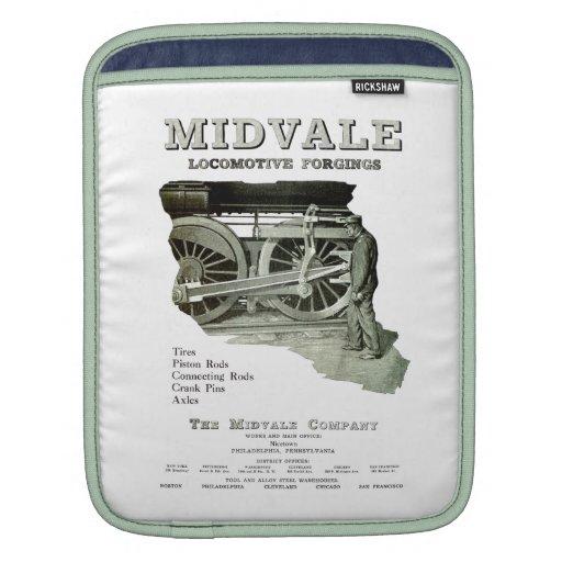 Midvale Steam Locomotive Forgings 1924 iPad Sleeve