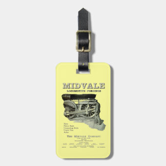 Midvale Steam Locomotive Forgings 1924 Luggage Tag