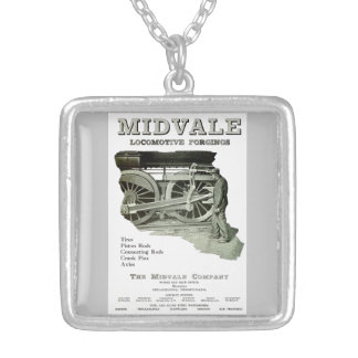 Midvale Steam Locomotive Forgings 1924 Necklace