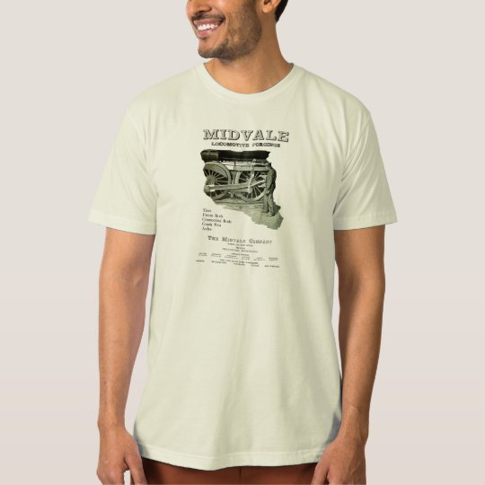 Midvale Steam Locomotive Forgings 1924 T-Shirt