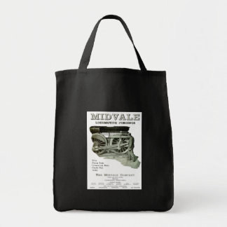 Midvale Steam Locomotive Forgings 1924  Tote Bags