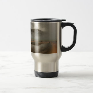 Midway Geyser Basin in Yellowstone National Park Travel Mug