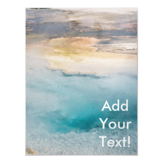 Midway Geyser Basin Turquoise Pool Magnetic Card