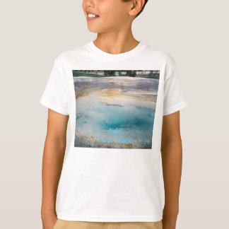 Midway Geyser Basin Turquoise Pool T-Shirt