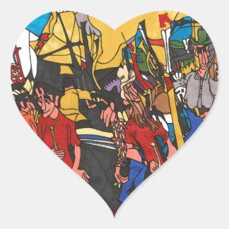 Midway Heart Sticker