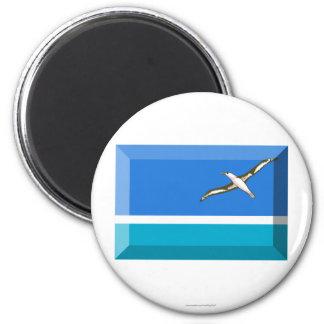 Midway Islands Flag Jewel Magnet