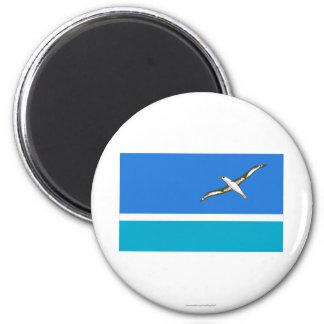 Midway Islands Flag Fridge Magnets
