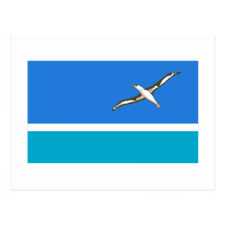 Midway Islands Flag Postcard