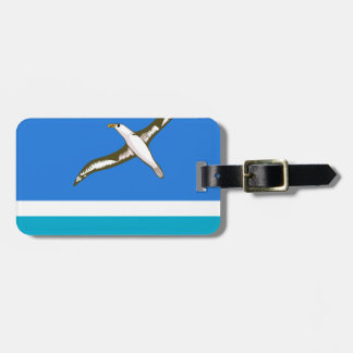 MIDWAY ISLANDS LUGGAGE TAG