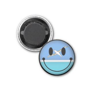Midway Islands Smiley Fridge Magnet