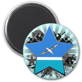 Midway Islands Star Magnets