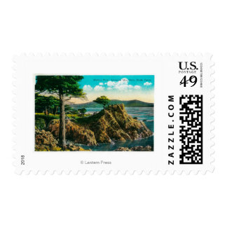 Midway Point on Seventeen Mile Drive Postage Stamp