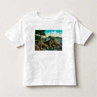 Midway Point on Seventeen Mile Drive Toddler T-shirt