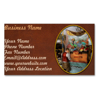Midway - Racing Monkeys 1941 Business Card Magnet