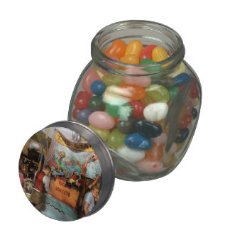 Midway - Racing Monkeys 1941 Jelly Belly Candy Jars
