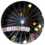 Midway Sparkle (Ferris Wheel) Porcelain Plate