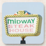 Midway Steakhouse Coaster