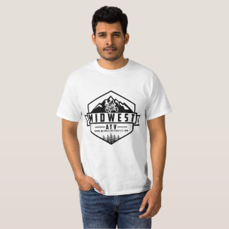 Midwest ATV Logo on White Shirt