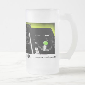 midwest creations frosted glass mug
