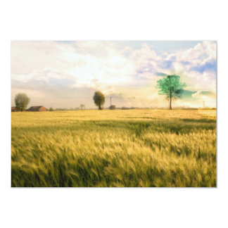 Midwest Field Painting Card