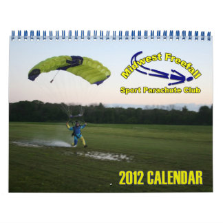 Midwest Freefall Calendar 2012 Standard size