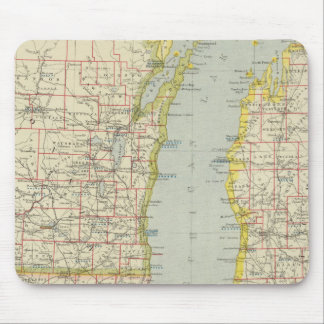 Midwest United States Mouse Pad