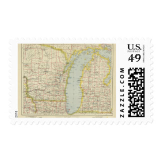Midwest United States Postage Stamp