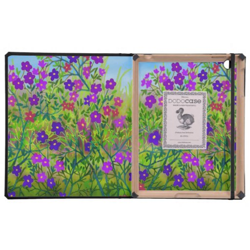 Midwestern Country Wildflowers iPad Dodo Case iPad Folio Case