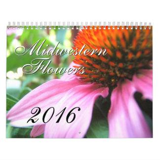 Midwestern Flowers 2016, Original Photography Calendar