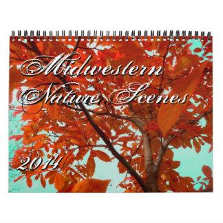 Midwestern Nature Scenes 2014 Original Photography Wall Calendar