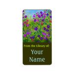 Midwestern Roadside Wildflowers Bookplate Address Label