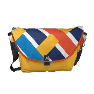 Midwestern Storm Weave Messenger Bag