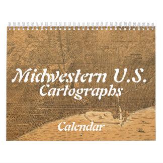 Midwestern U.S. Cartographs Calendar