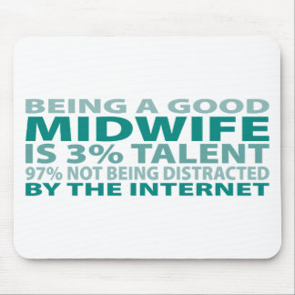 Midwife 3% Talent Mouse Mat