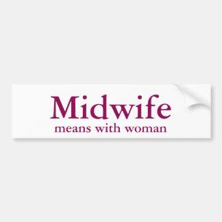 Midwife Bumper Sticker