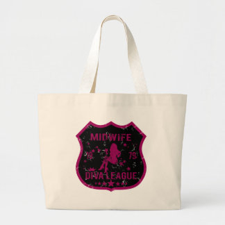 Midwife Diva League Tote Bag