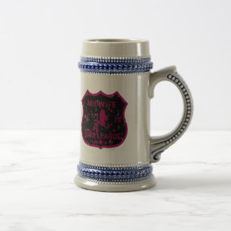 Midwife Diva League Beer Stein