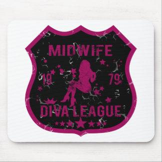 Midwife Diva League Mouse Pad