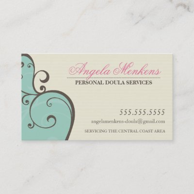 Doula Or Midwife Business Cards Zazzle