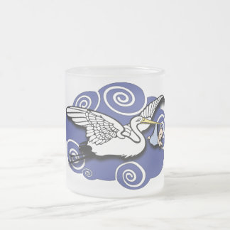 Midwife Frosted Glass Coffee Mug
