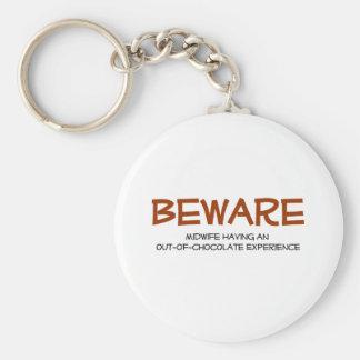 Midwife Keychain