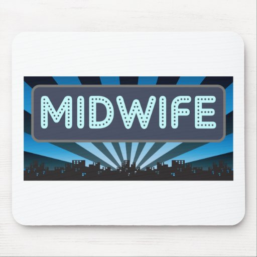 Midwife Marquee Mouse Mat